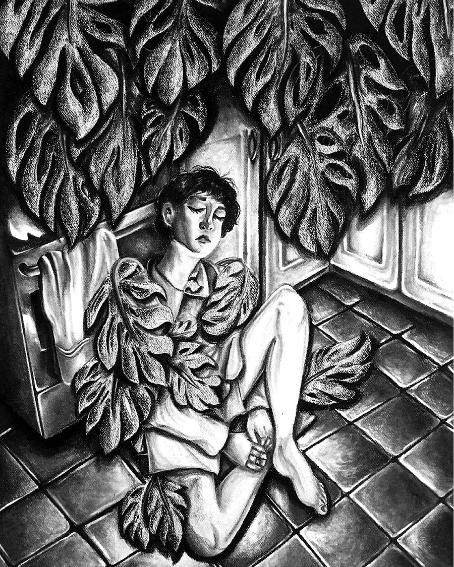 Overgrown (Charcoal, 2019)