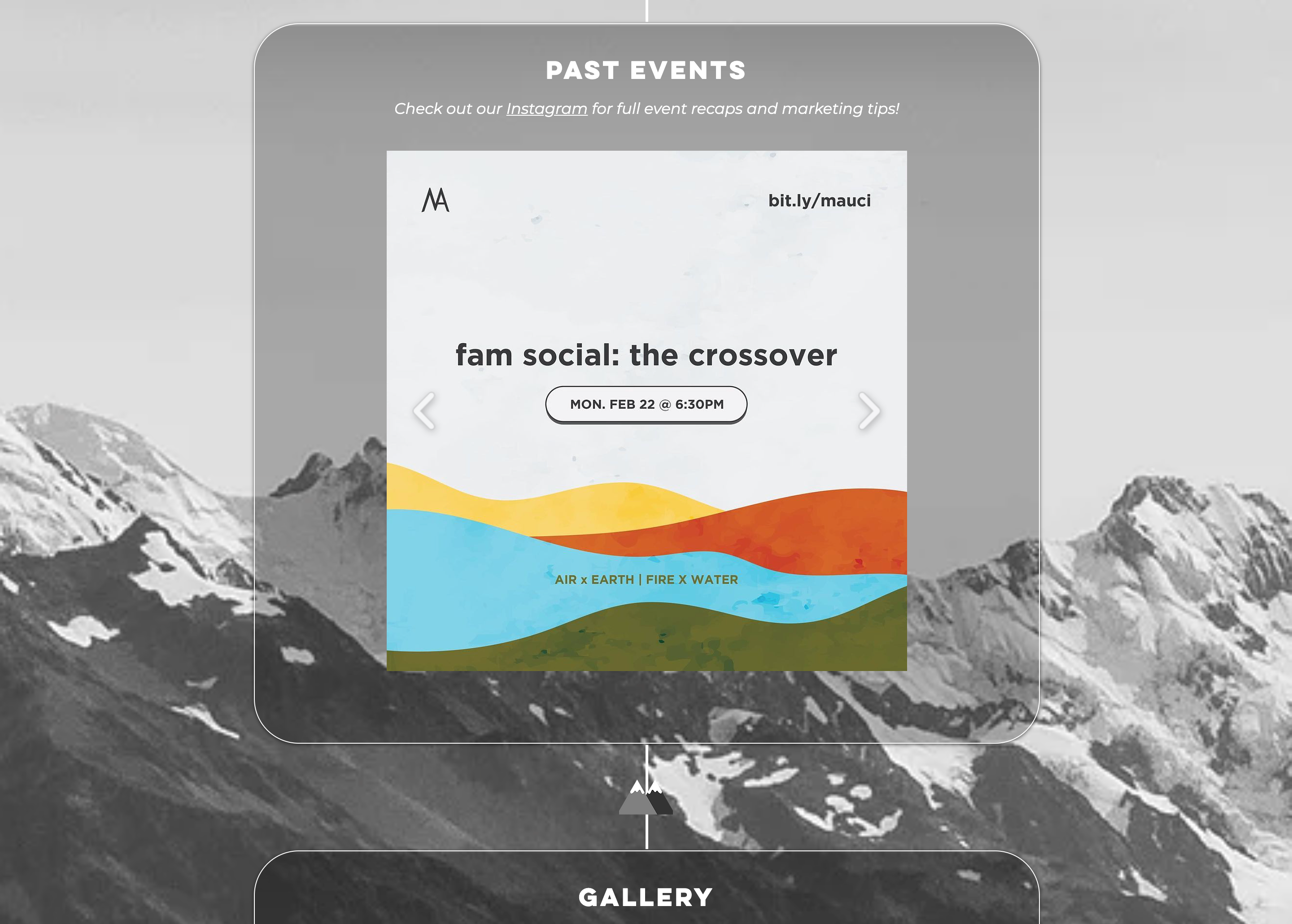 MA Events Page